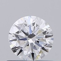 Round Brilliant Cut 0.50ct Lab Grown Diamond CVD E VS1 IGI Crtified Stone