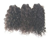 Deep Curly Human Hair Weaves, 100% Human Hair,