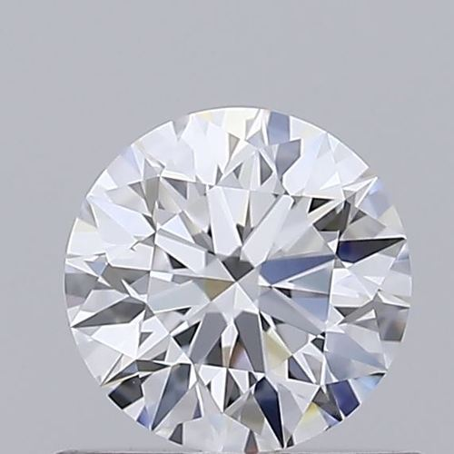 Round Brilliant Cut 0.54ct Lab Grown Diamond CVD F VVS1 IGI Crtified Stone