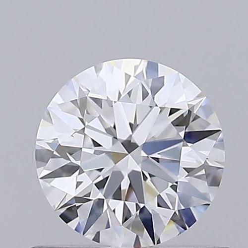Round Brilliant Cut 0.54ct Lab Grown Diamond CVD F VVS1 IGI Crtified Stone
