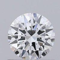 Round Brilliant Cut 0.55ct Lab Grown Diamond CVD D VS1 IGI Crtified Stone