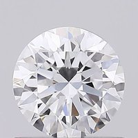 Round brilliant Cut 0.62ct Lab Grown Diamond CVD D VS1 IGI Crtified Stone