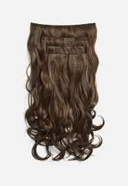 !!!! BEAUTIFUL !!!! DARK BROWN WAVY CLIP IN HUMAN HAIR EXTENSIONS !!!!