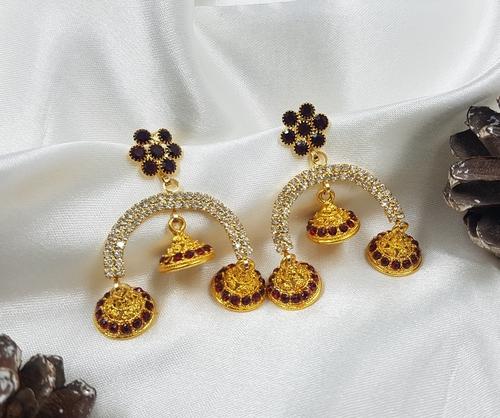 Fancy Gold Earring