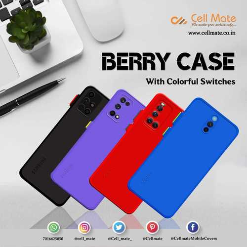 Berry Soft Mobile Back Case