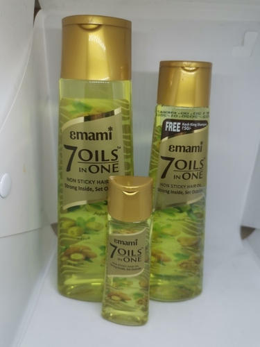 Emami Non Sticky Hair Oil - 7 Oils In 1