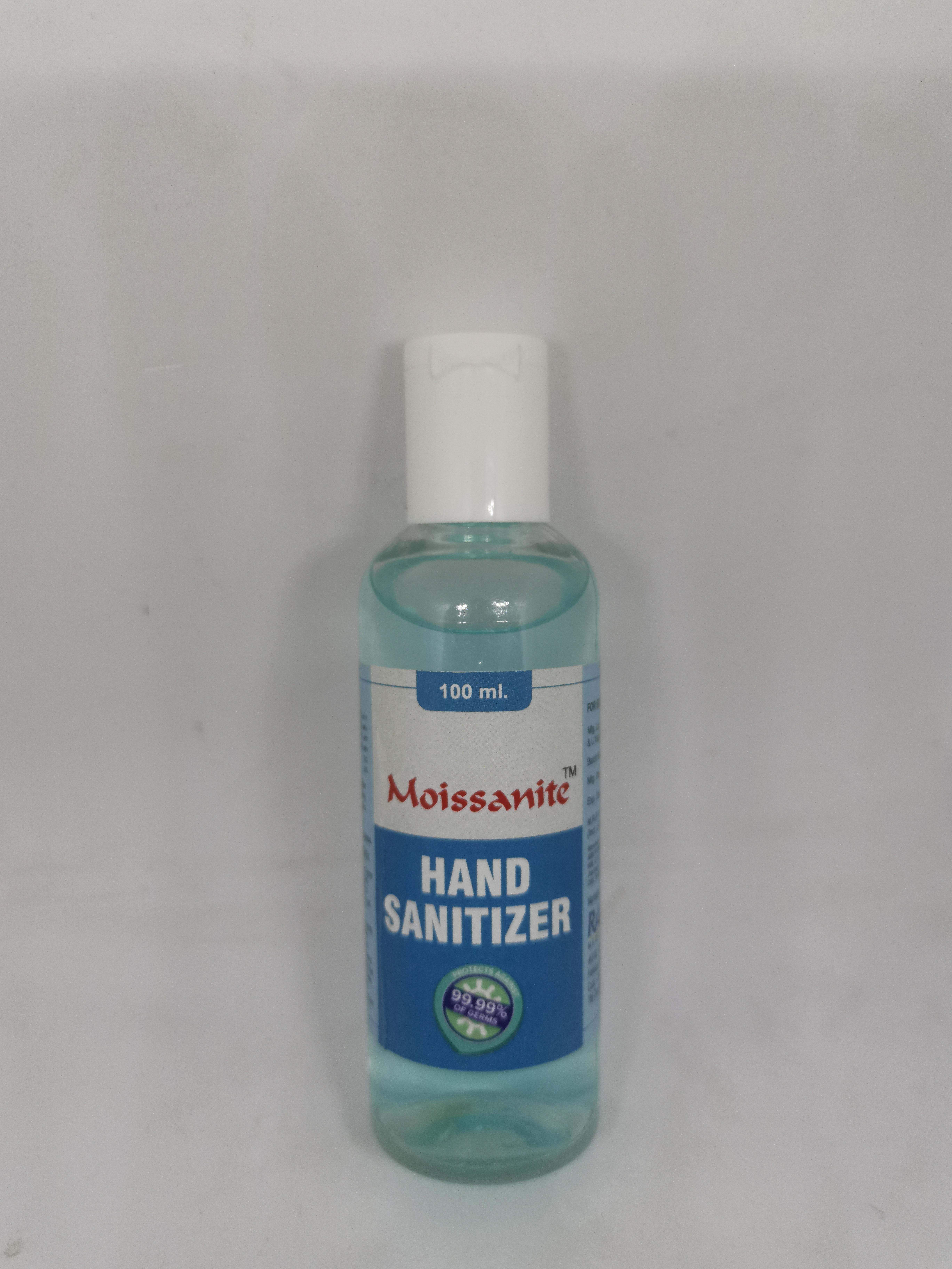 Moissanite Hand Sanitizer - 100, 200, 500 ml