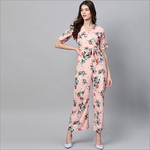 Ladies Floral Printed Jumpsuits
