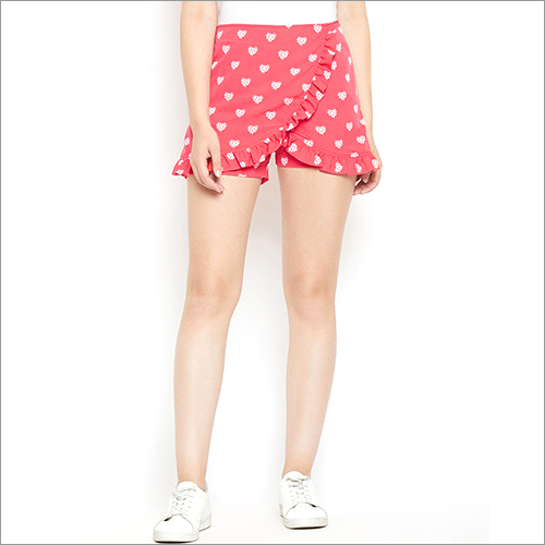 Ladies Printed Shorts