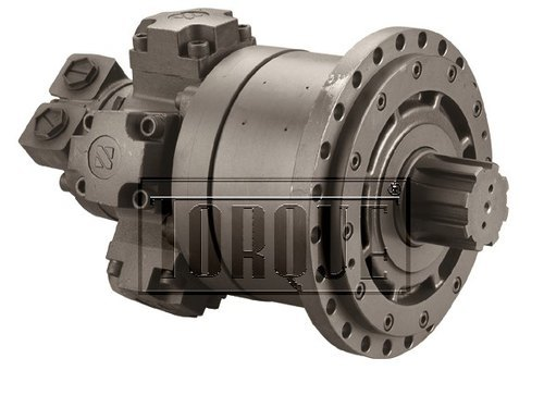 Hydraulic Piston Motor with Gearbox