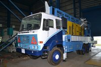 High Efficiency Truck mounted drill rig