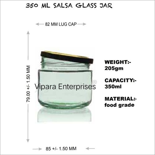 350 ML Salsa Glass Jar