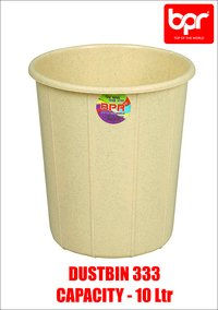 Open Top Plastic Dustbin