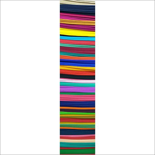 Dyed Poplin Multi Colour Fabric