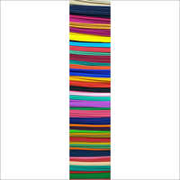 Dyed Poplin Multi Colour Fabric