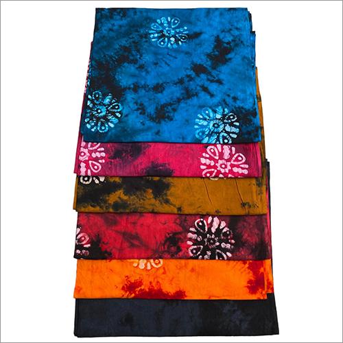 Tie Dye Cotton Nighty Fabric