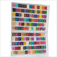 Dyed Poplin Colour Chart