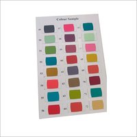 Dyed Rayon Colour Chart