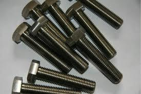 Bright Polished Titanium Bolt
