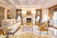 White & Gold Interior