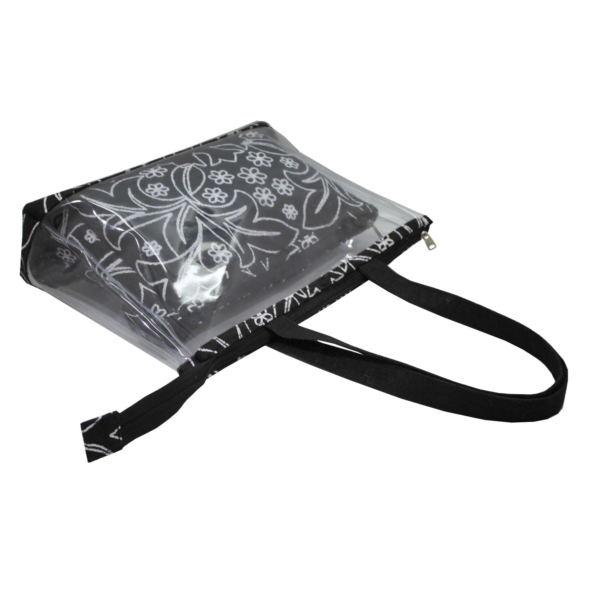 Pvc Transparent Travel Pouch With Bag