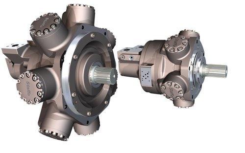 Dual Displacement Motor