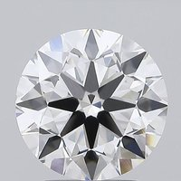 Round Brilliant Cut 2.71ct Lab Grown Diamond CVD F VVS2 IGI Crtified Stone