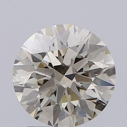 Round Brilliant Cut 1.62ct Lab Grown Diamond CVD L VS2 IGI Crtified Stone