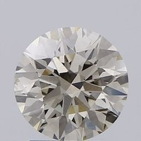 Round Brilliant Cut 1.62ct Lab Grown Diamond CVD L VS2 IGI Crtified Stone