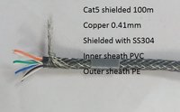 Cat 5 shielded cable