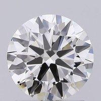 Round Brilliant Cut 1.56ct Lab Grown Diamond CVD J VS2 IGI Crtified Stone