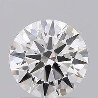 Round Brilliant Cut 1.23ct Lab Grown Diamond CVD E VVS2 IGI Crtified Stone