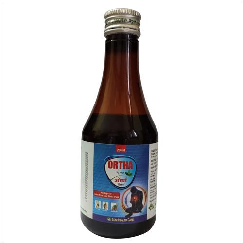 200 ml Ayurvedic Ortha Syrup