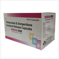 Rabeprazole and Domperidone Sustained Release Capsules