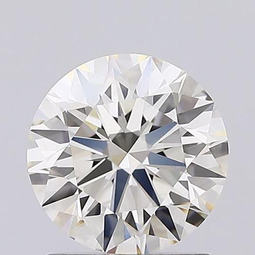 Ronud Brilliant Cut 1.21ct Lab Grown Diamond CVD J VVS2 IGI Crtified Stone