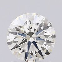 Ronud Brilliant Cut 1.21ct Lab Grown Diamond CVD J VVS2 IGI Crtified Stone
