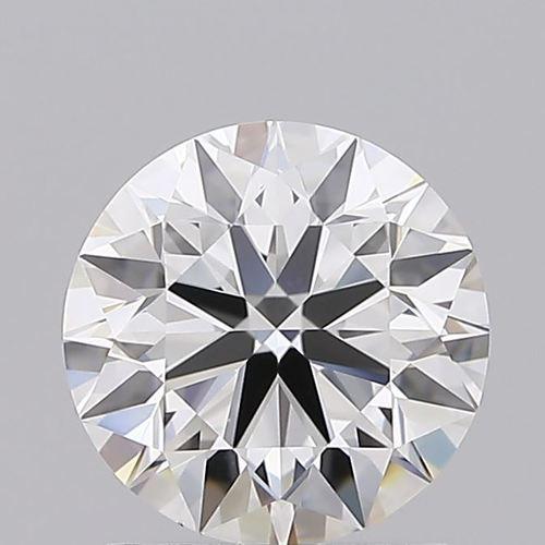 Round Brilliant Cut 1.21ct Lab Grown Diamond CVD F IF IGI Crtified Stone