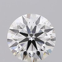 Round Brilliant Cut 1.21ct Lab Grown Diamond CVD F IF IGI Crtified Stone