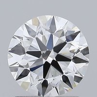 Round Brilliant Cut 1.20ct Lab Grown Diamond CVD E VS1 IGI Crtified Stone