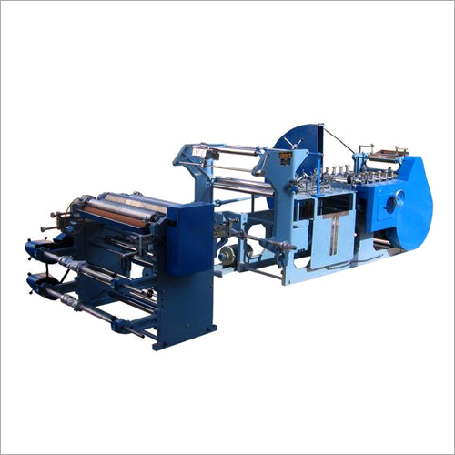 Grocery Shop Bags Fully Automatic Paper Bags Making Machine
