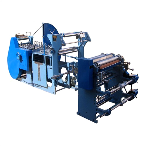 Friends Fully Automatic Grocery Craft Paper Bag Making Machine With 3 HP Motor