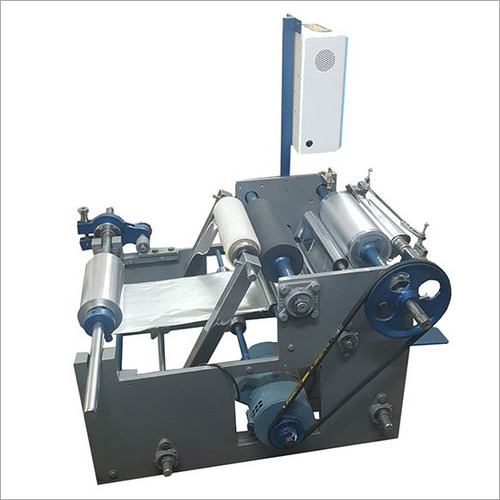 Semi-Automatic Aluminum Foil Rewinder Machine