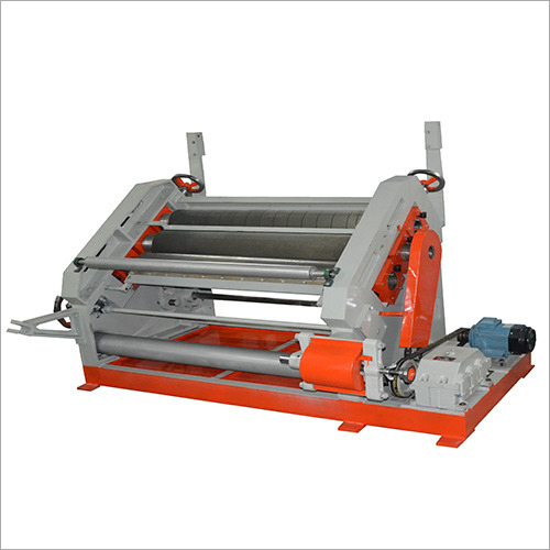 Oblique Type Corrugation Machine