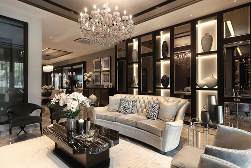Glamour Interior Design