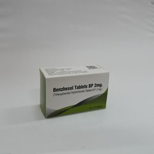 Benzhexol Tablets Bp 5 Mg (Trihexyphenidyl  Hydrochloride Tablets Bp 5 Mg)