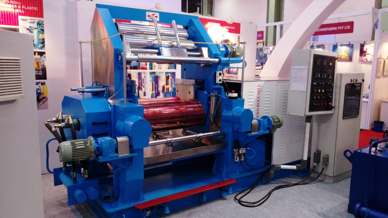 Rubber Two Rolls Mixing Mills