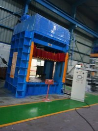 Hydraulic Forming Press for Roof Lining, Head line
