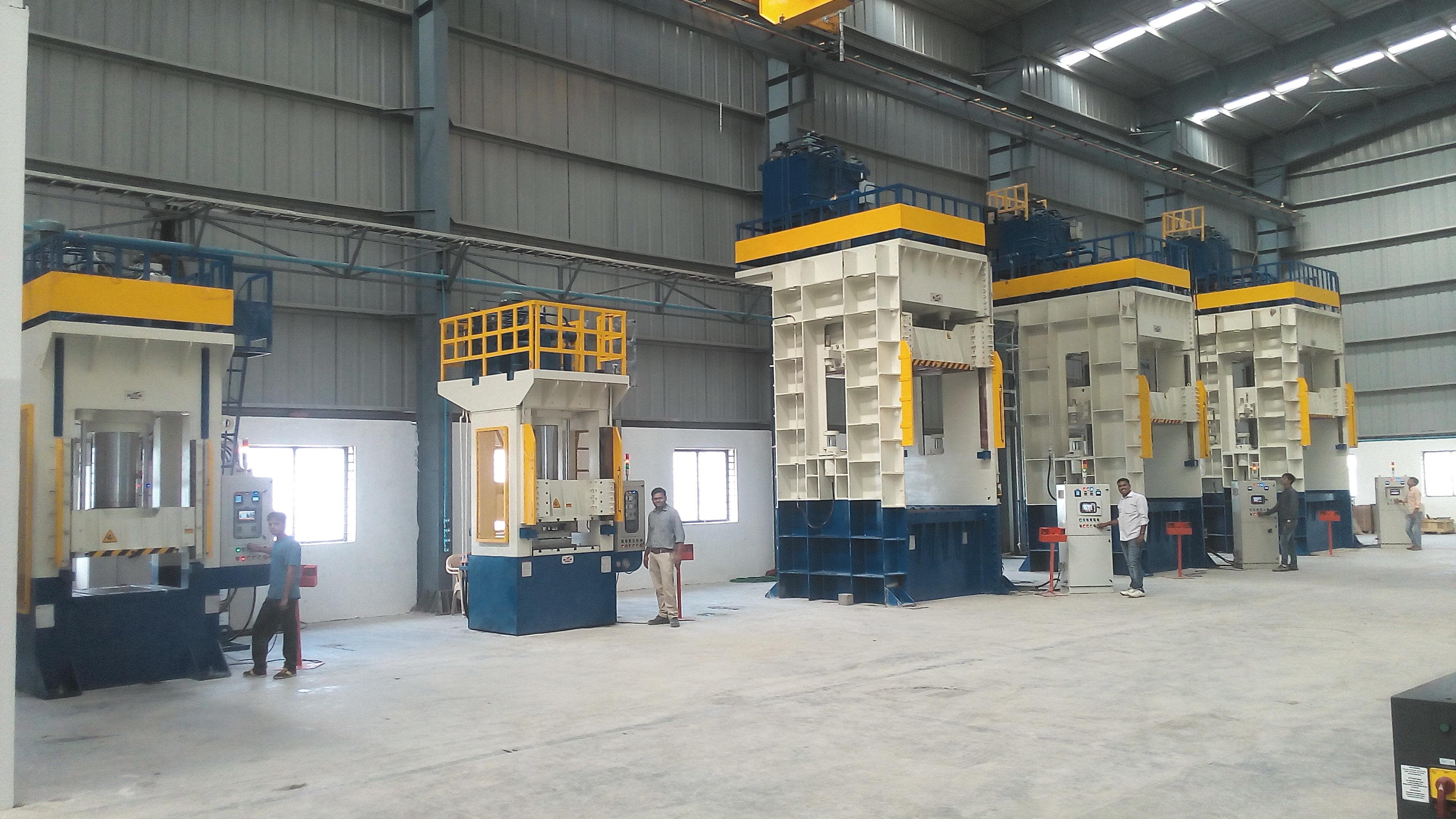 Automatic Hydraulic Forming Press