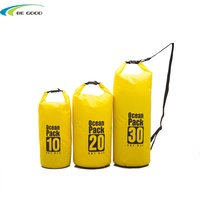 Waterproof dry bag floating backpack pvc portable paddle board bag for swimming kayaking rafting boating river outdoot sport
