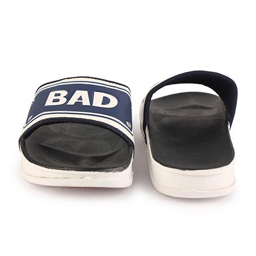 Black & White Flip Flop Slip On